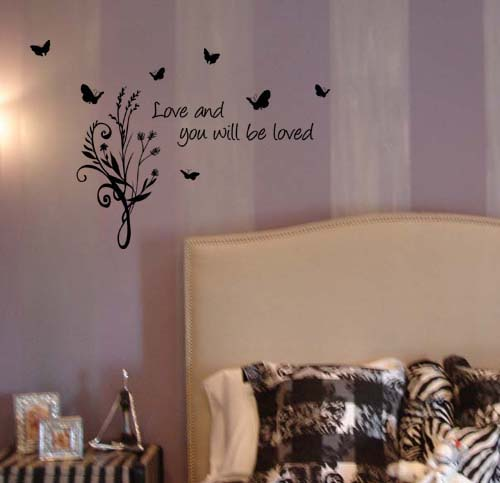 Love And Be Loved | Wall Decal
