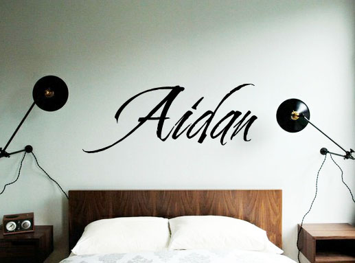 Cherish Name Wall Decal