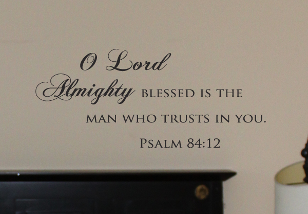 O Lord Almighty Wall Decals