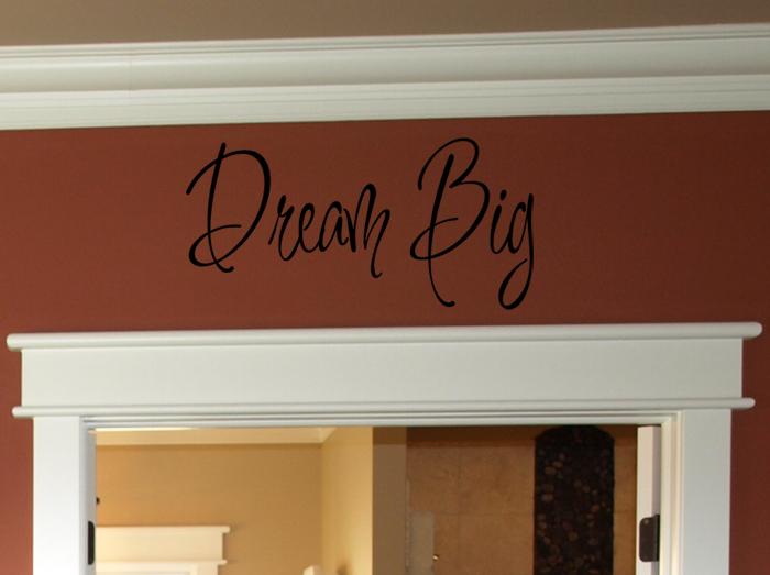 Dream Big Wall Decals