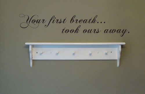 Your First Breath Decal