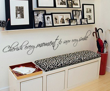 Cherish Every Moment Wall Decal