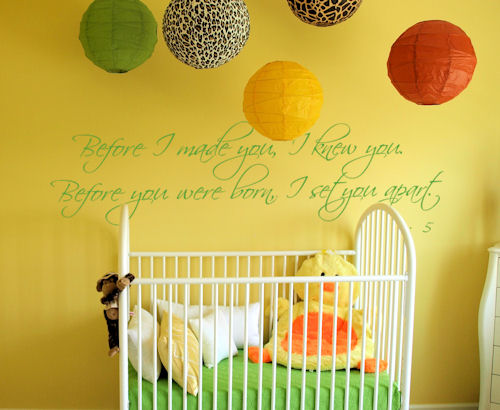 Before Made You Knew You Wall Decals