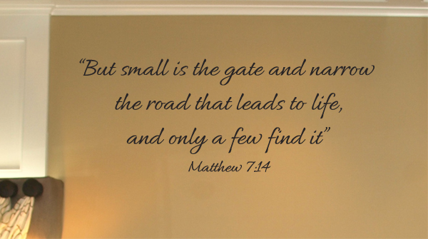 Road That Leads To Life Wall Decal