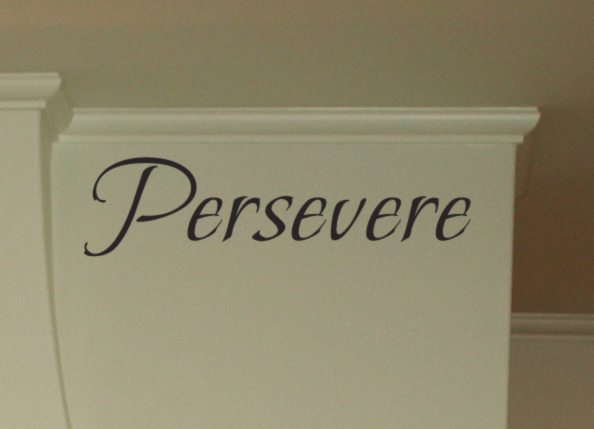 Persevere Wall Decal Item