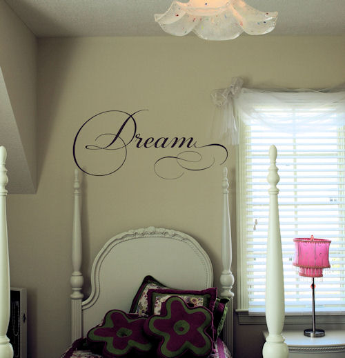 Dream Simply Words Wall Decals