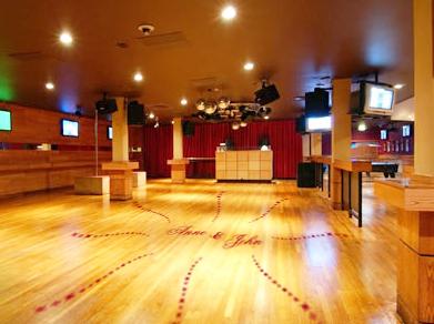Dance Floor Flower Design Decal