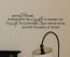 May this Home be Blessed Wall Decal
