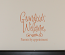 Grandkids Welcome Wall Decals