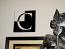 Reverse Block Monogram Wall Decal