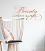 Beauty Wall Decal