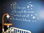 Moon & Back Wall Decals