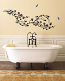 Cherry Blossom Branch & Birds-Large Wall Decal