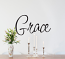Simply Words Grace Wall Decal