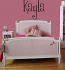 Name Girls Are Weird Font Wall Decal