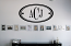 Oval Monogram Wall Decal