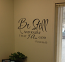 Be Still Scripture Wall Decal