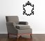 Baroque Frames 2 Wall Decal