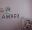Zebra Name Wall Decal