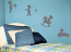 Little Boy Playing Pack Wall Decal