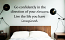 Direction Of Your Dreams Wall Decal