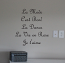 French Phrases Wall Decal