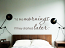 Mornings Started Later Wall Decal