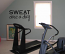 Sweat Once A Day Wall Decal