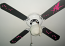 Ceiling Fan Fairy Stars Wall Decal