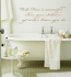 Bath Time Success Wall Decals