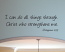 Do All Things Through Christ Wall Decal