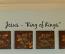 Jesus King Of Kings Wall Decals