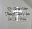 By Grace Through Faith Wall Decal