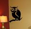 Peeking Owl Wall Decal