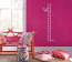 Dragonfly Height Chart Wall Decals
