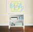 Block Letter Boy Name Wall Decal