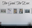 For Good For Ever Wall Decal