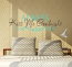 Always Kiss Me Goodnight IV Wall Decal
