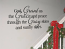 God Grant Us The Grace Wall Decals