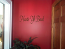 Cursive Haste Ye Back Wall Decal