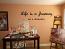 Cursive Life Journey Wall Decals