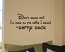 Don't Shush Me Wall Decals