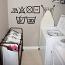 Wash Care Symbols Wall Decal