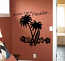 Another Day in Paradise Large Wall Decal