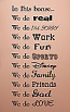 In This House Fun Fonts Wall Decal