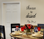Vertical Save Room For Dessert Wall Decal