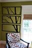 Framed Birch Branch Wall Decal