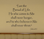 I Am The Bread Of Life LARGE Wall Decal