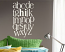 ABC Hi Wall Decal
