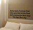 The Woman Wall Decal